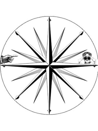 334x445 Buy X24 1.5 Vintage Steampunk Victorian Wind Rose Compass Rose