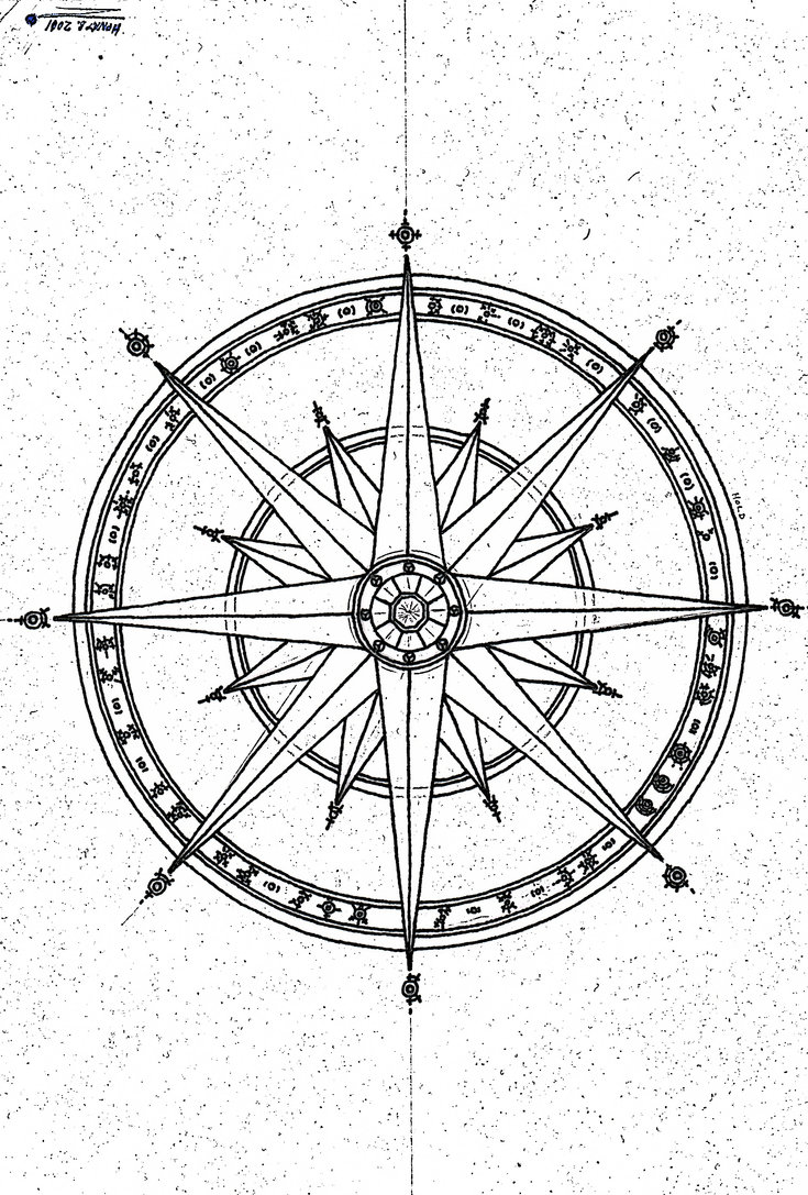 735x1087 Compass Drawing