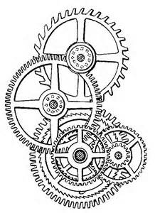 218x300 Steampunk Gears Coloring Pages
