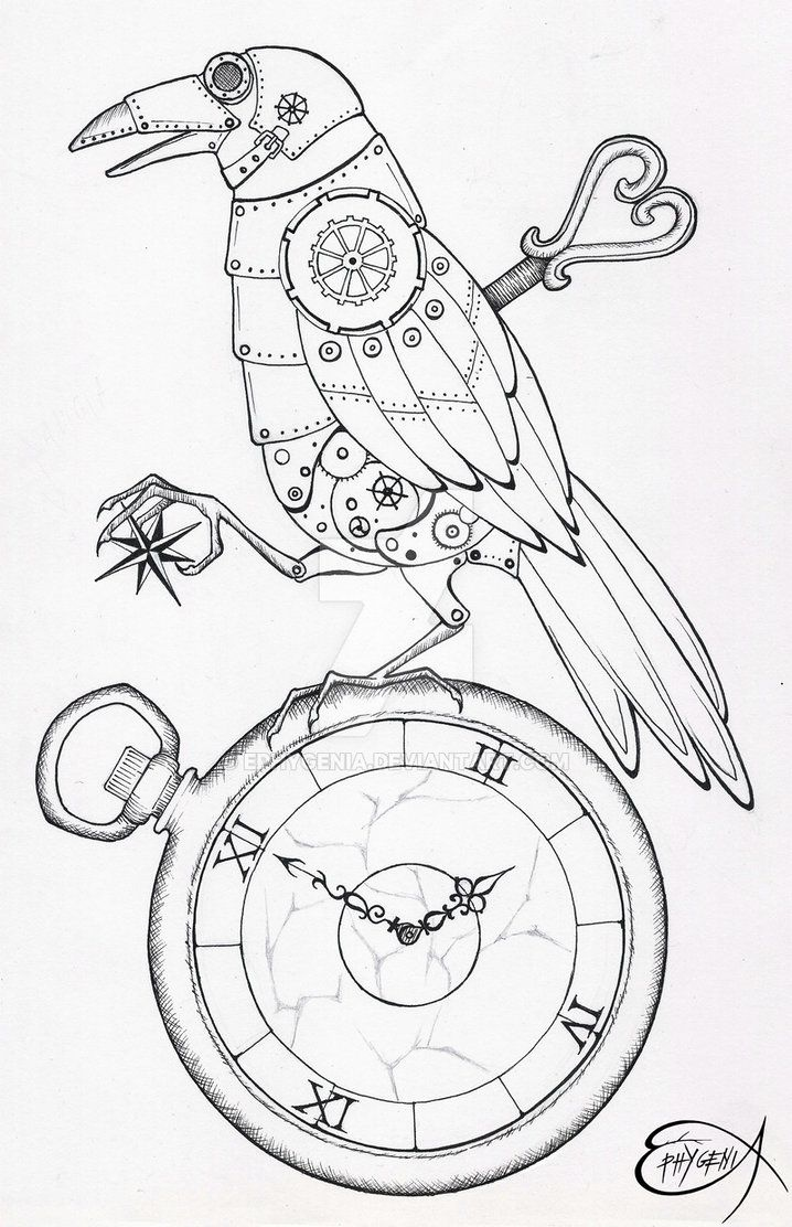 Steampunk Drawing Ideas