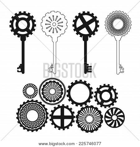 450x470 Steampunk Gears Images, Illustrations, Vectors