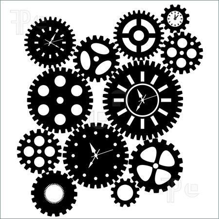 450x450 Gears Clipart Diy Steampunk Clock Cogs Clipart Steampunk