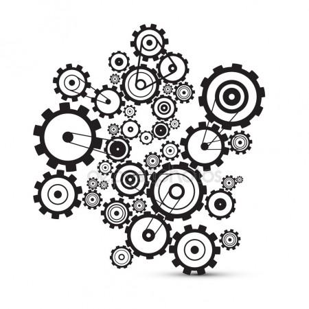450x450 Gears Stock Vectors, Royalty Free Gears Illustrations