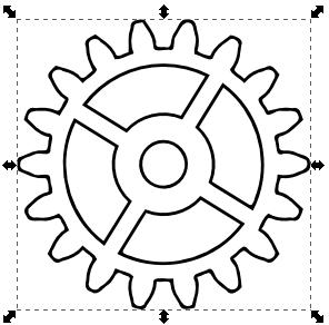 296x292 Gears Clipart Drawn