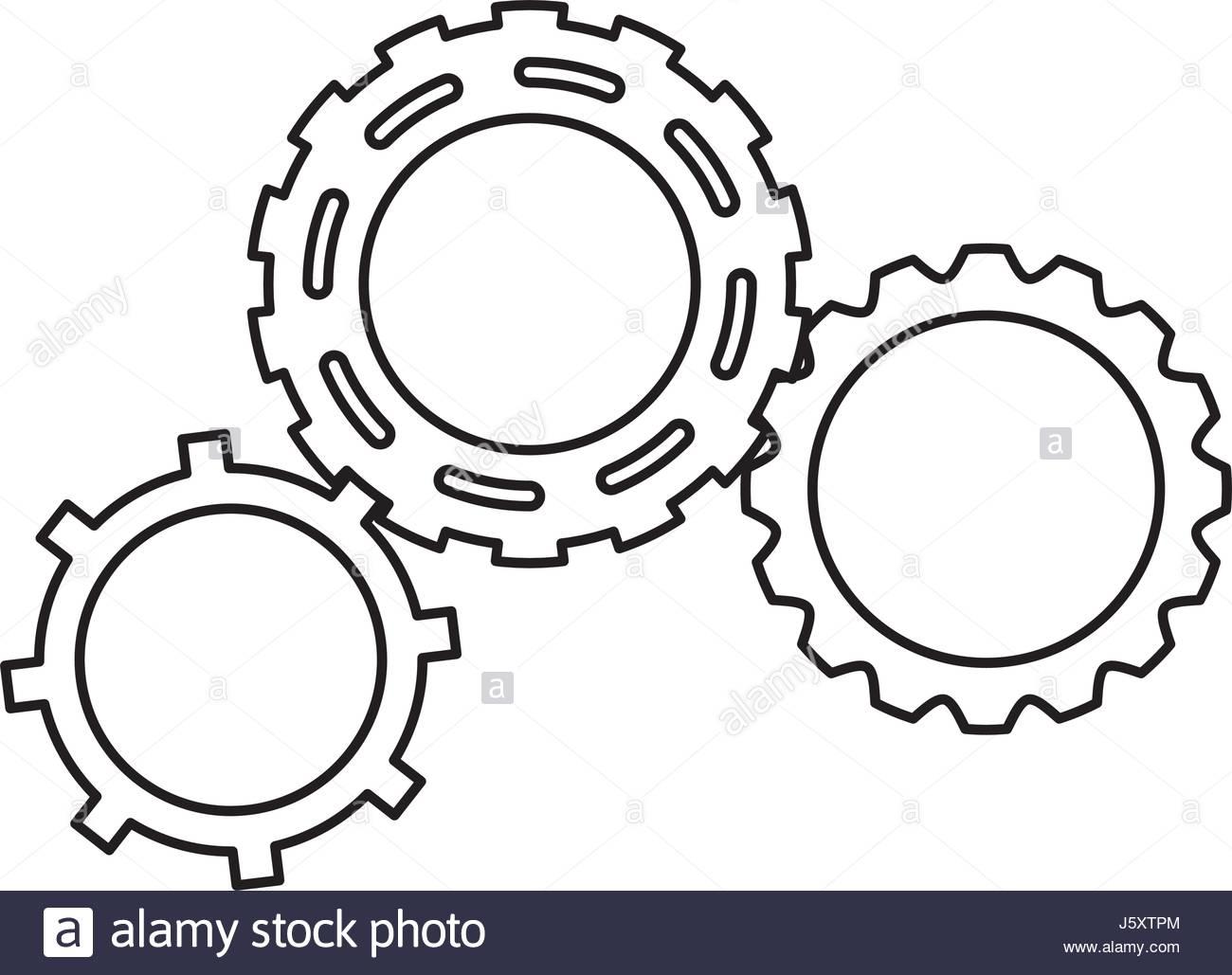 1300x1029 Gears Engineering Mechanical Wheel Cogs Stock Vector Art
