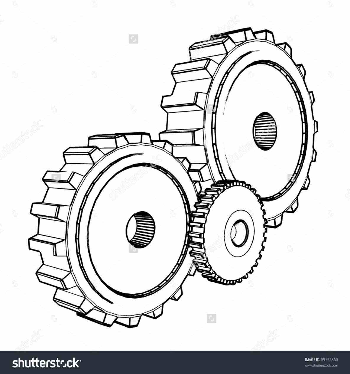 1185x1264 Steampunk Gears And Cogs Drawing