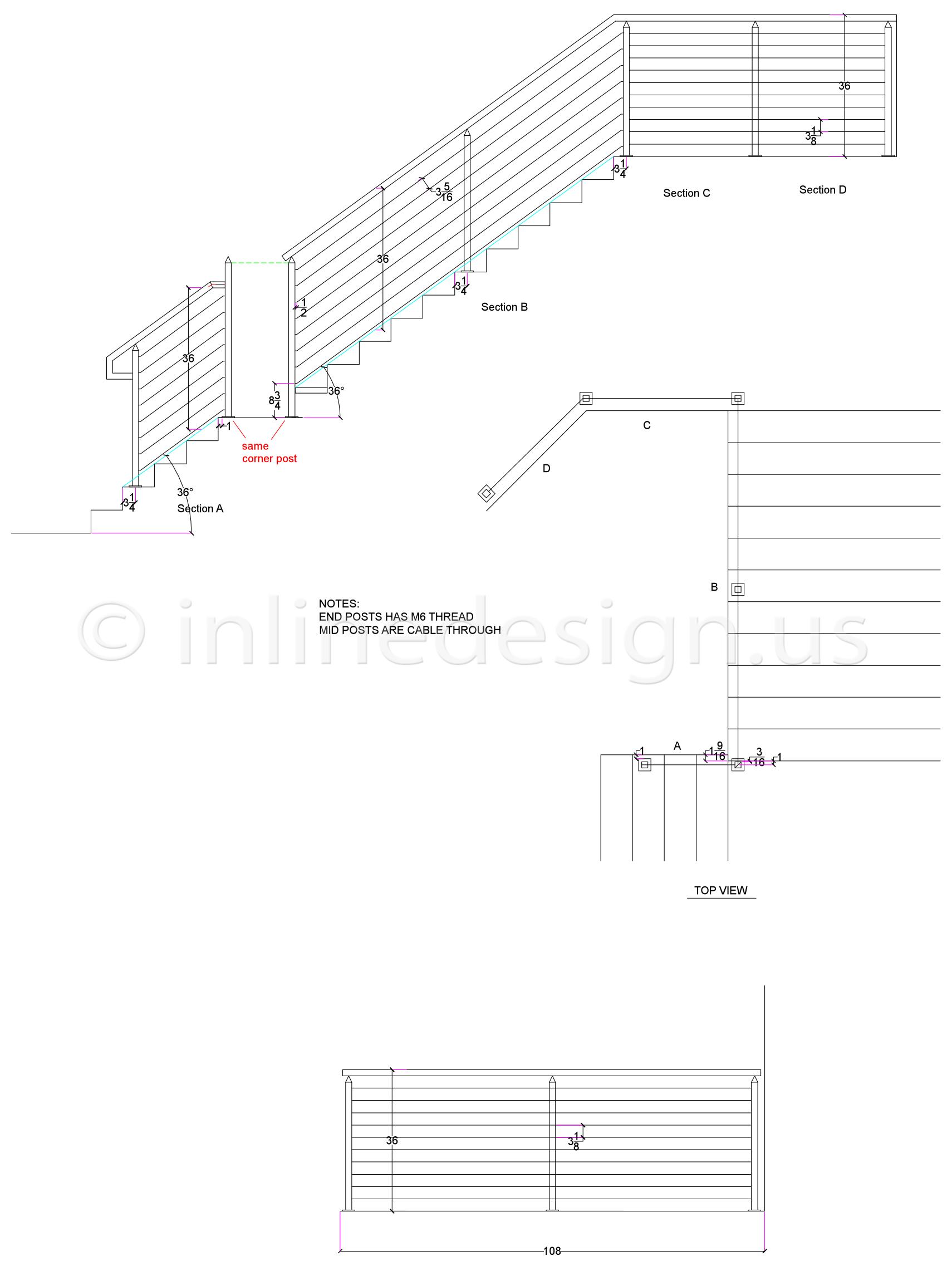 1710x2274 Cad Drawings