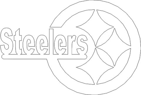 steelers logos coloring pages | Steelers Logo Coloring Page