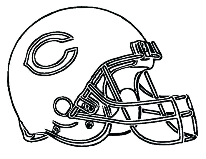 700x541 Steelers Coloring Pages Football Helmet Bears Coloring Page