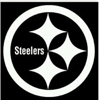 318x320 Pittsburgh Steelers Emblem Car Window Decal Sticker