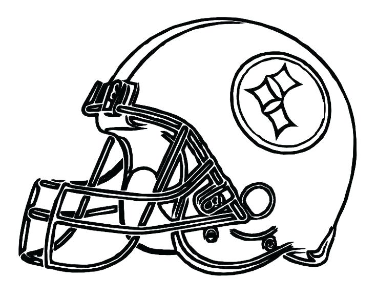 736x584 Pittsburgh Steelers Logo Coloring Pages Best Coloring Disney Book