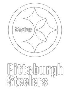 236x314 Pittsburgh Steelers Logo Stencil Printable Pittsburgh Steelers