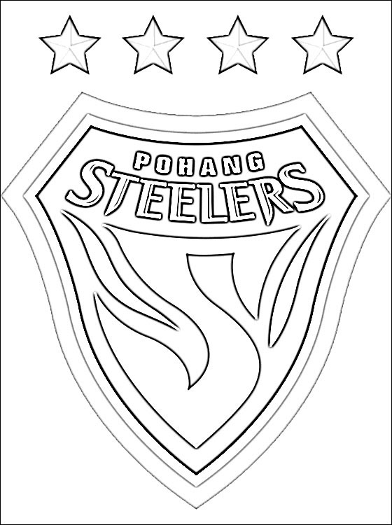 steelers logos coloring pages | Steelers Logo Drawing at GetDrawings | Free download