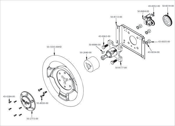 602x433 Steering Wheel Assembly