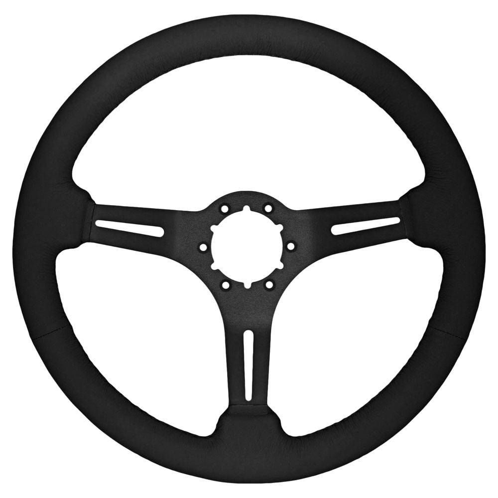 1000x1000 Volante St3060 Mustang Steering Wheel Kit 14 Brushed Gt 350 1965 66