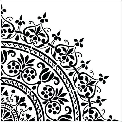 400x400 Printable Drawing Stencils Free Stencil Templates For Walls Is