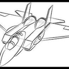 Step By Step Airplane Drawing