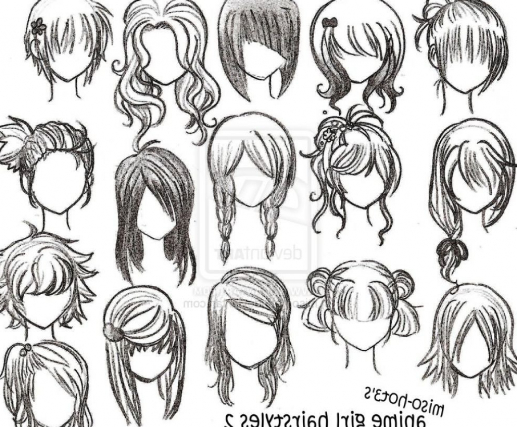 1024x846 How To Draw Anime Step By Step Instructions Anime Drawing Step By