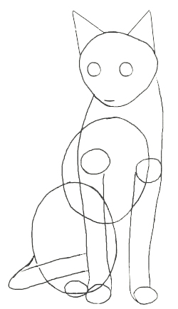 250x434 How To Draw A Cat