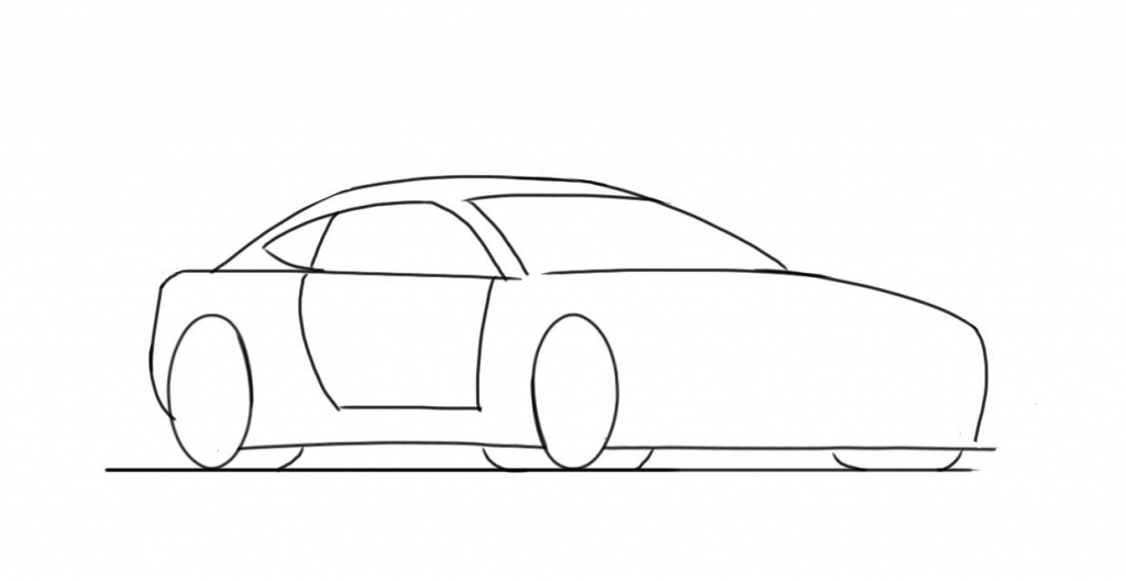 1024x528 Cool Things To Draw Step By Step How To Draw Car Super Car