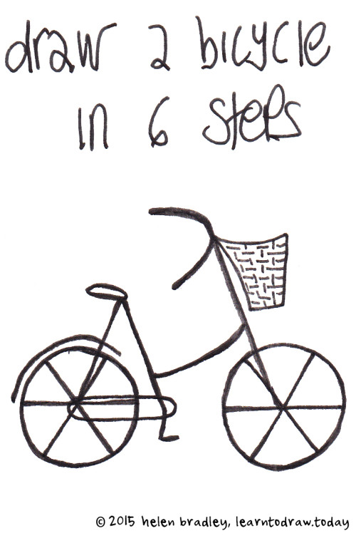 500x762 Draw A Bicycle In 6 Simple Steps Learn To Draw