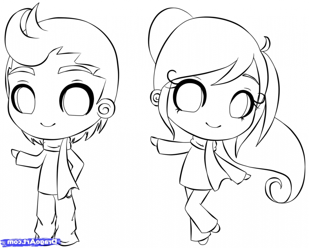 1024x822 Easy Drawing Of A Person How To Draw A Chibi Person Step Step