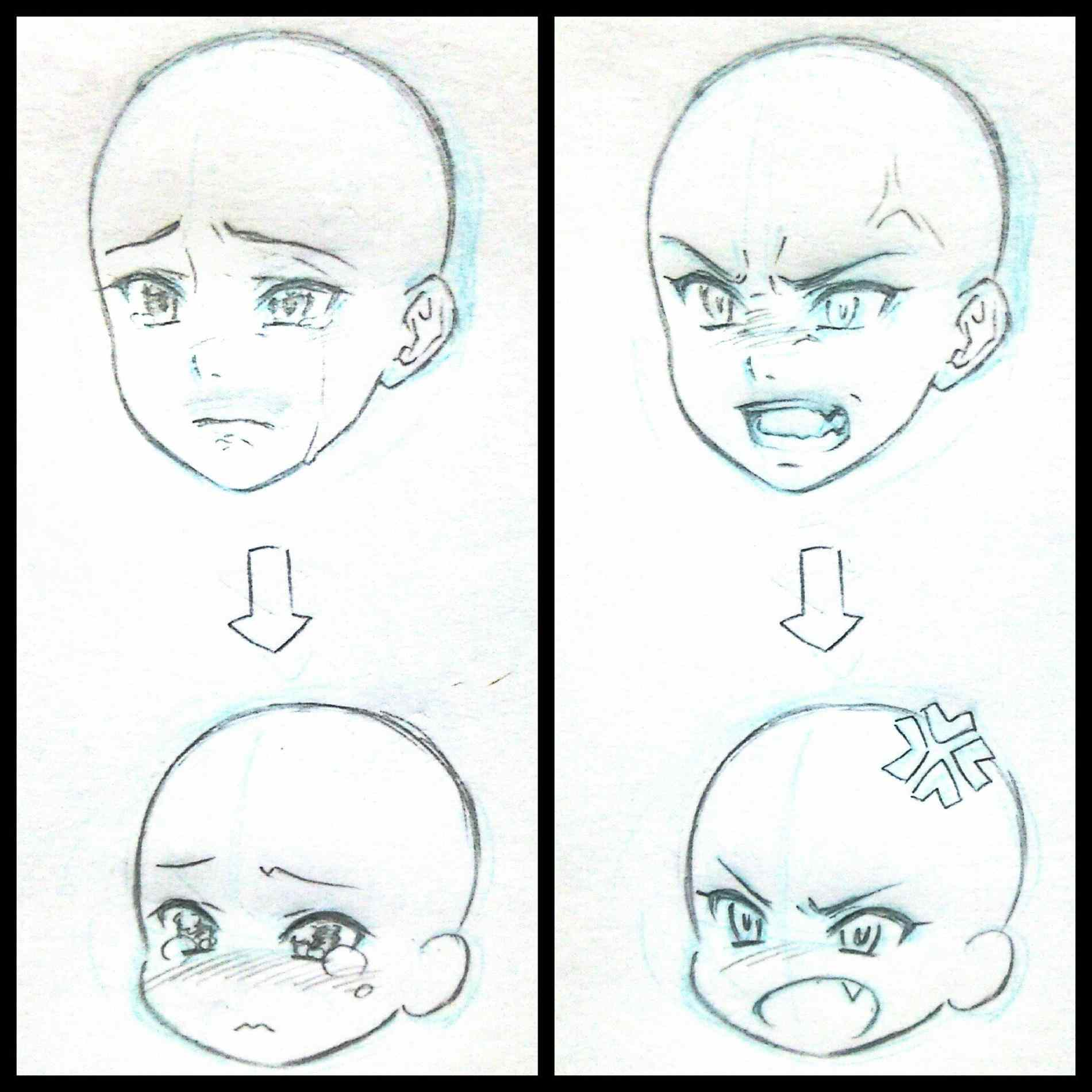Step By Step Drawing Anime Faces At GetDrawings.com