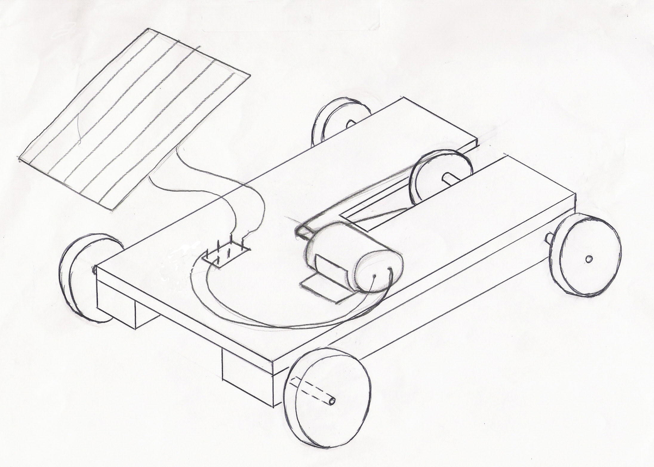 2191x1564 Solar Power Car Project