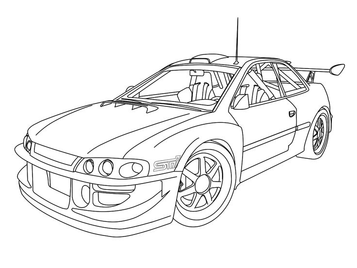 736x552 Pictures Car Drawing Outline,