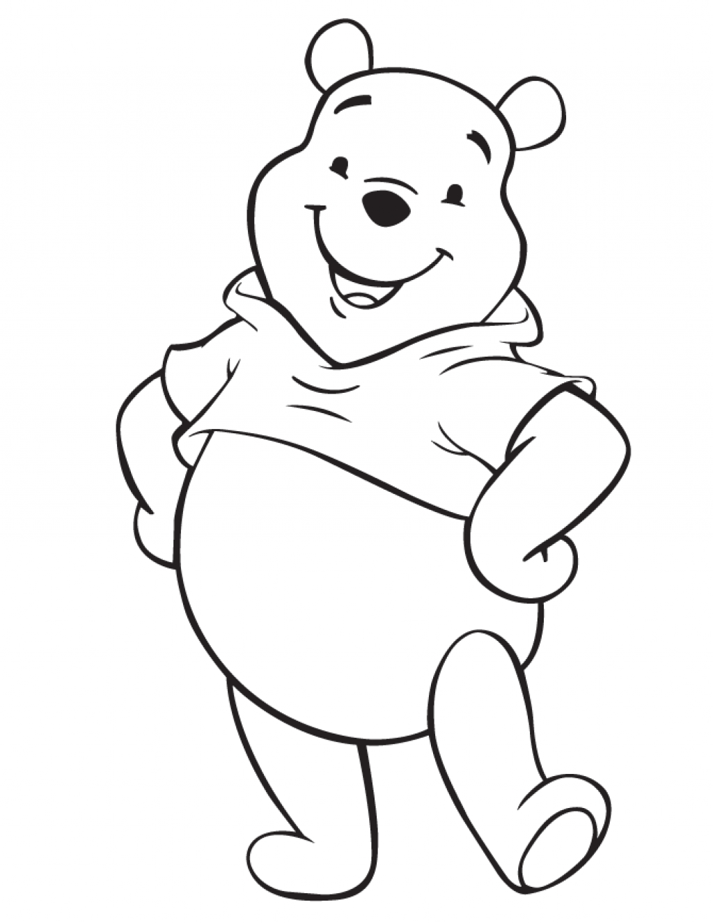 1024x1325 Disney Characters Coloring Pages Easy Baby Disney Cartoon
