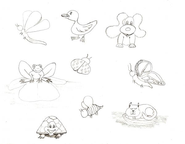 Line Drawing Step By Step : Step by drawing cute animals at getdrawings free for