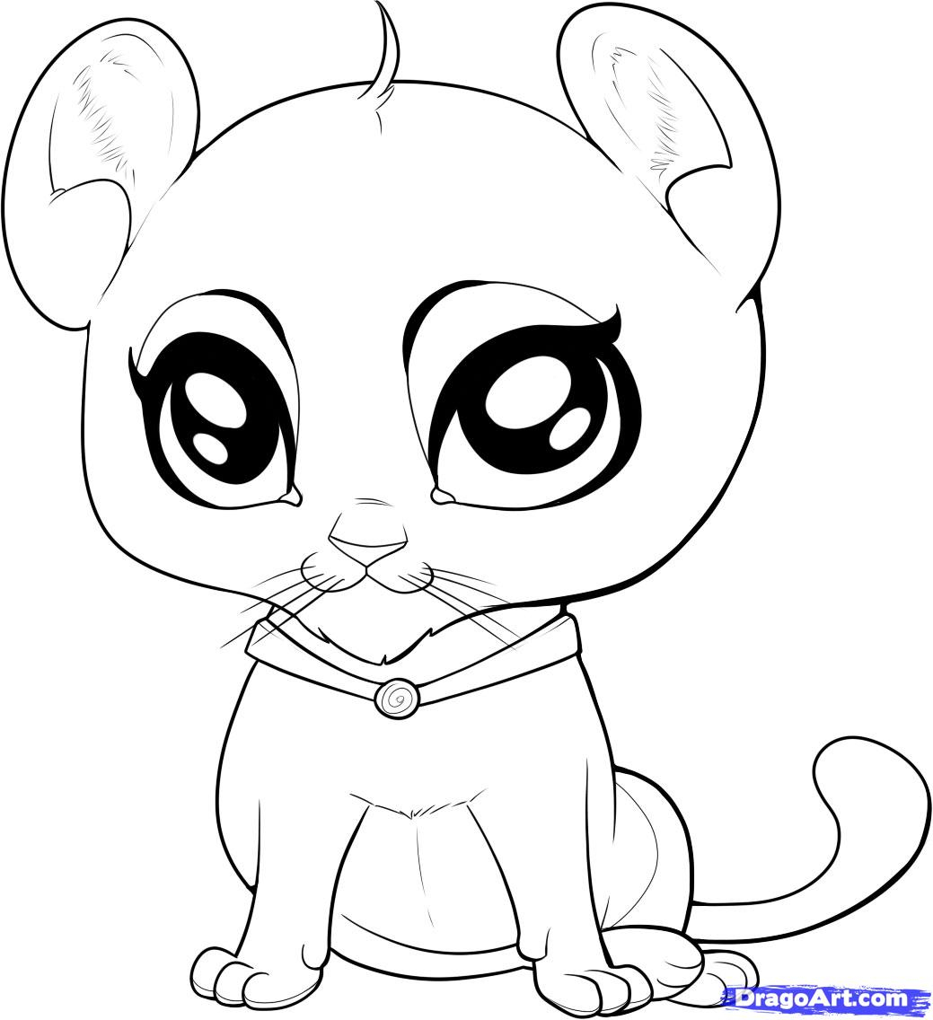 1039x1136 Photos How To Draw Baby Animals,