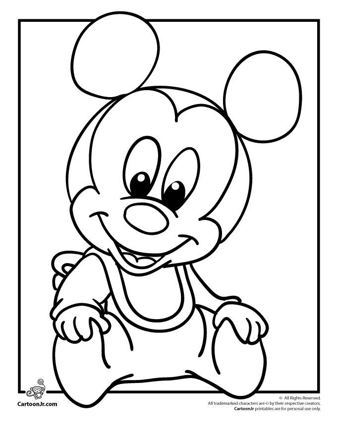 680x880 Drawn Toon Mickey Mouse