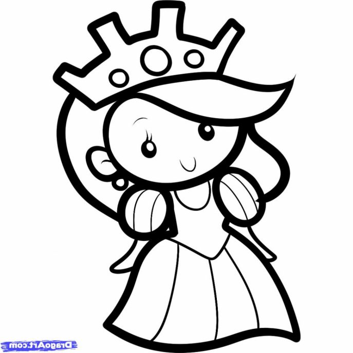 687x687 Coloring Pages Decorative Simple Drawings For Kids 8ce65lxmi