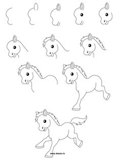 236x314 How To Draw A Unicorn For Kids Free Printable, Unicorns And Learning