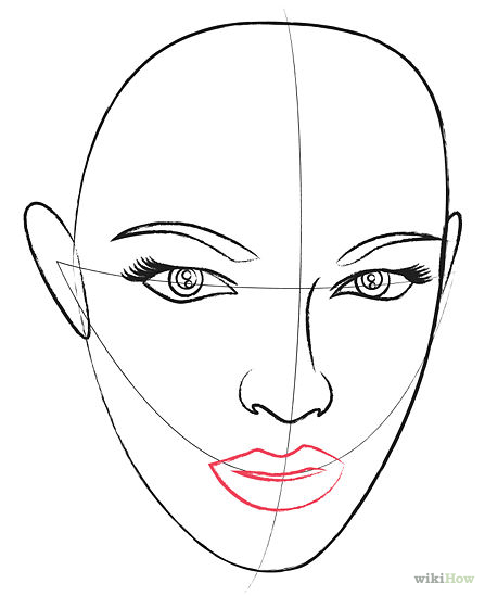 447x549 Draw A Human Head Human Head, Drawings And Sketches