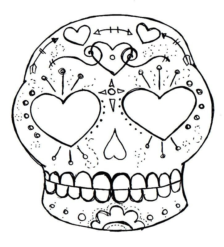 step by step sugar skull drawing at getdrawings com free for