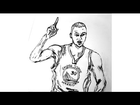 480x360 Stephen Curry Fast Drawing