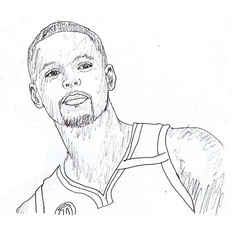 750x750 Curry Drawing Art Stephencurry On Instagram