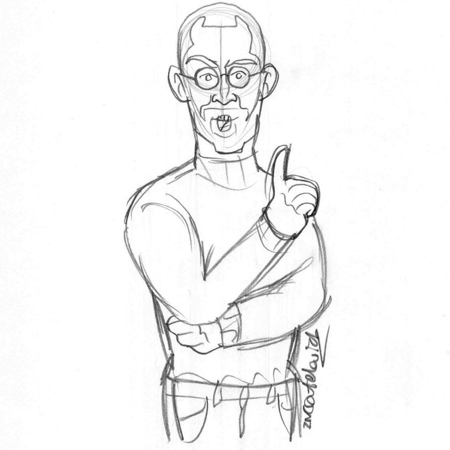 894x894 Steve Jobs (Sketch) By Creativ Ziv
