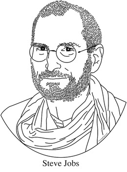260x350 Steve Jobs Clip Art, Coloring Page, Or Mini Poster By Cordial Clips