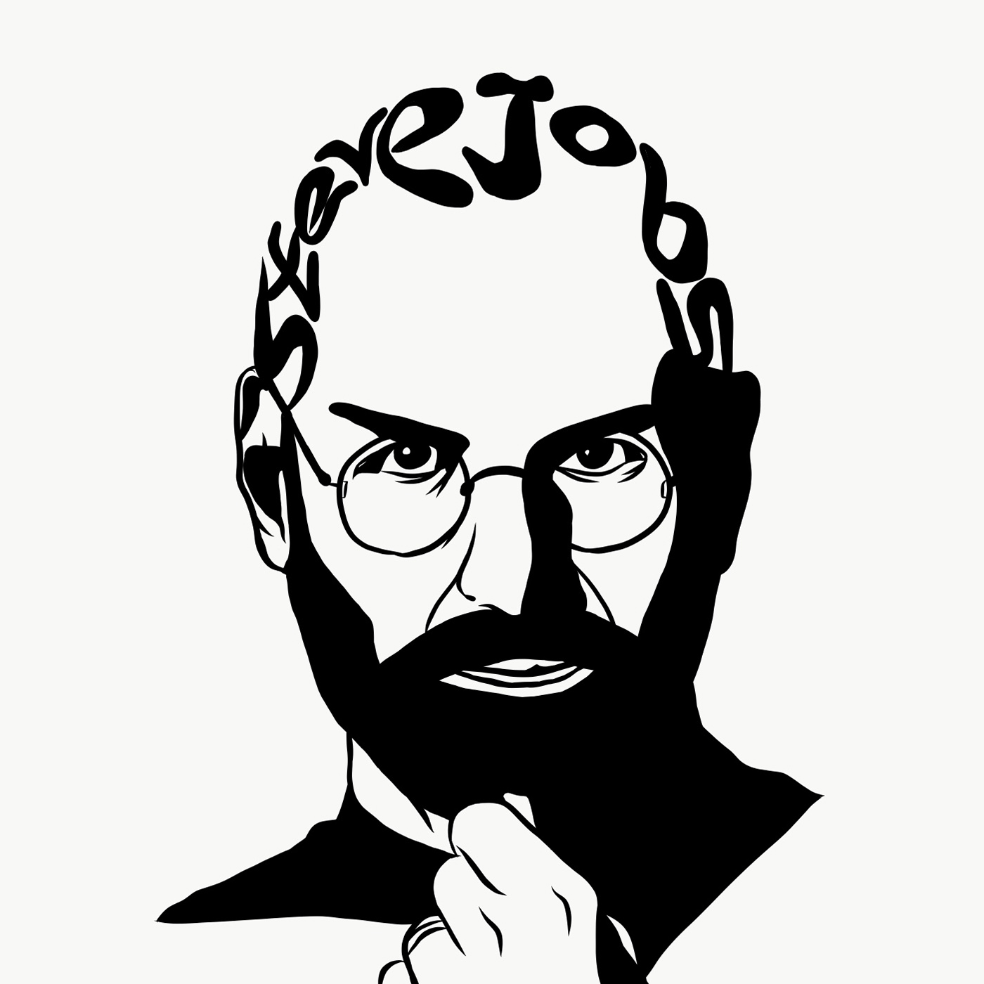 1400x1400 Steve Jobs On Behance
