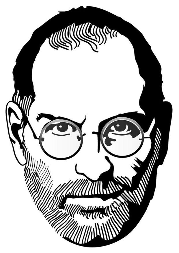 620x875 Coloring Page Steve Jobs