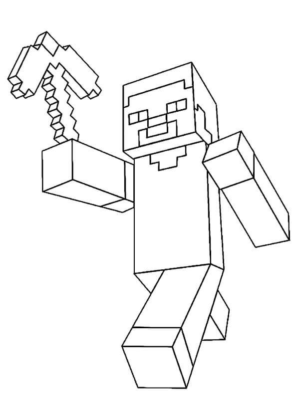 Steve Minecraft Drawing