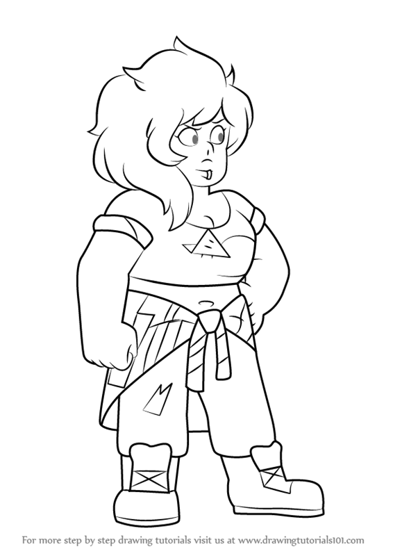 566x800 Learn How To Draw Mystery Girl From Steven Universe (Steven