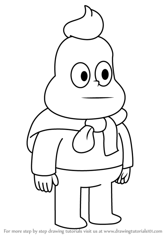 567x800 Learn How To Draw Onion From Steven Universe (Steven Universe