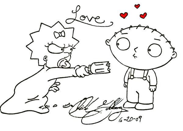 600x432 Stewie In Love By Hotsnowman