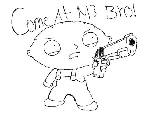 512x386 How Draw Stewie Griffin How To Draw Stewie Family Guy