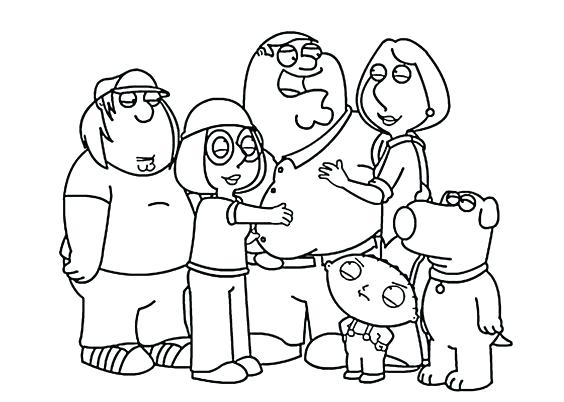 564x402 Stewie Griffin Coloring Pages Family Guy Together Coloring Pages