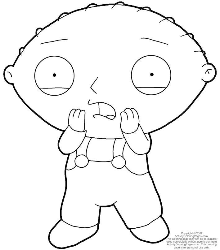 709x808 Stewie Coloring Pages Coloring Page For Kids